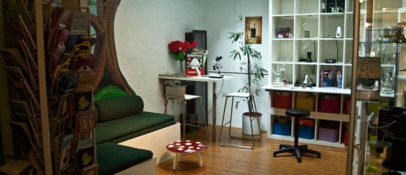Azarius smartshop in Amsterdam.