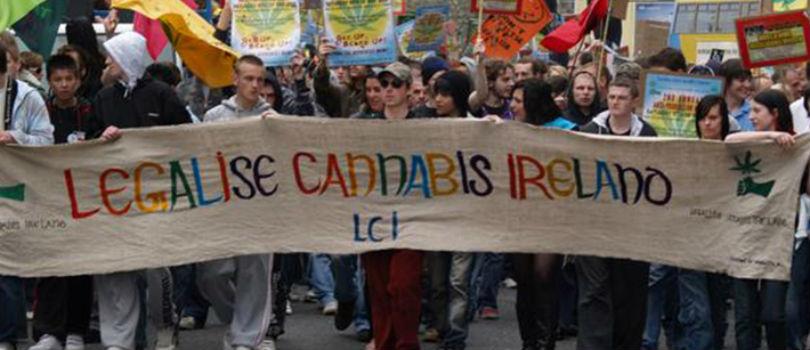 Cannabis Legalization Demonstration in Ireland