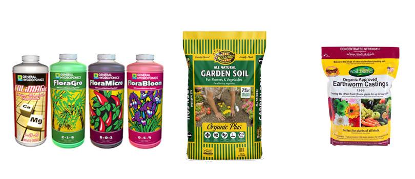 Cannabis Indoor Grow Nutrients