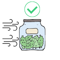 Cannabis Storage Air