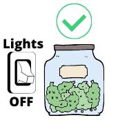 Cannabis Storage Light