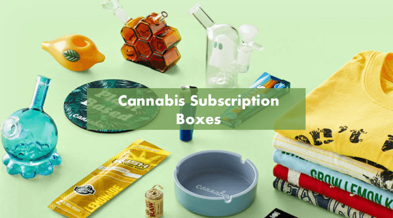 Cannabis Subscription Boxes Cover Photo