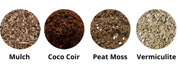 Cannabis water retaining material