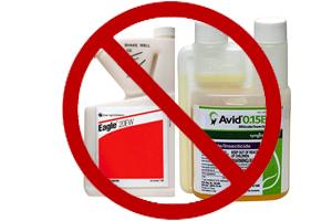 Dangerous pesticides