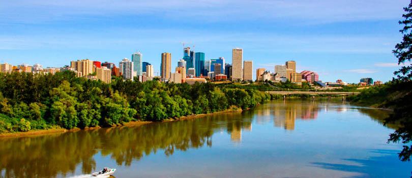 Edmonton Alberta Canada Cityscape