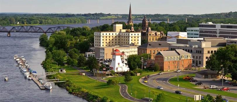 Fredericton New Brunswick Cityscape