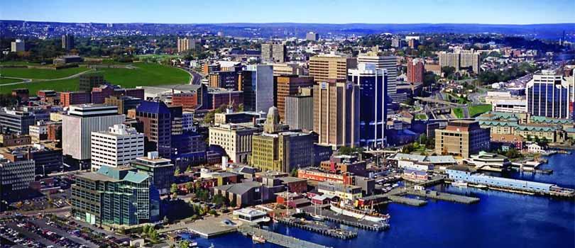 Halifax Novia Scotia Cityscape