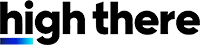 High There Logo