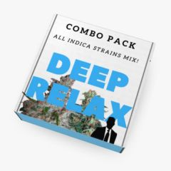 """DEEP RELAX"" Mix Pack (All INDICA Seeds)"