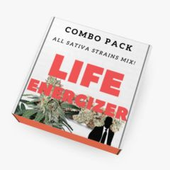 """LIFE ENERGIZER"" Mix Pack (All SATIVA Seeds)"