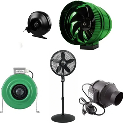 Marijuana Grow room fans
