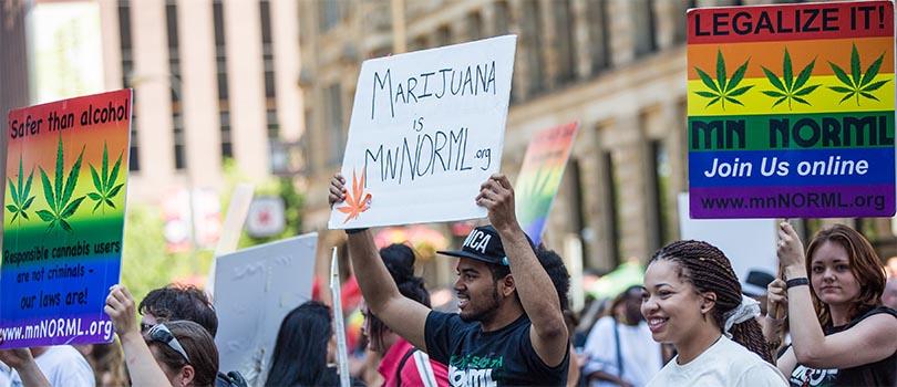 Minnesota Cannabis Protest