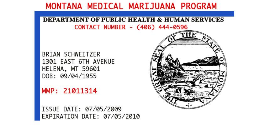 Montana Medical Marijuana Card