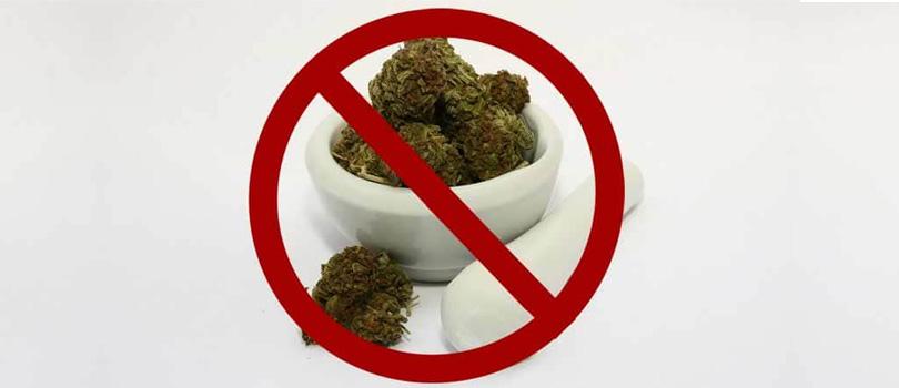 No medical cannabis
