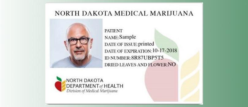 North Dakota MMJ Card