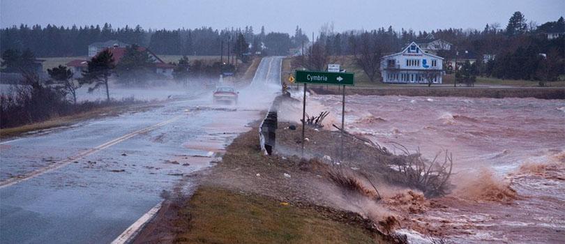 Prince Edward Island Storm