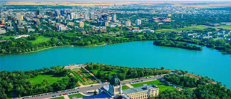 Regina Saskatchewan Sky View