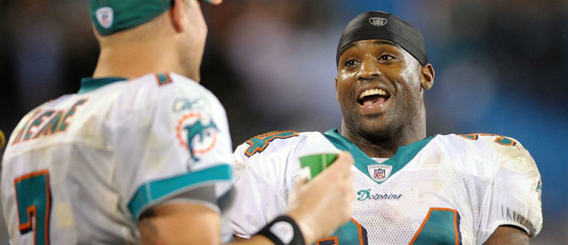 Miami Dolphins's Ricky Williams