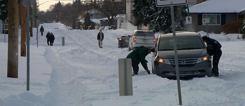 Saskatchewan Snow