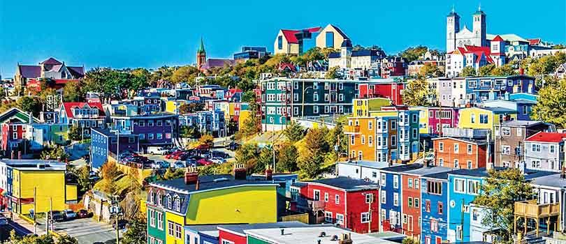 St Johns Newfoundland Capital