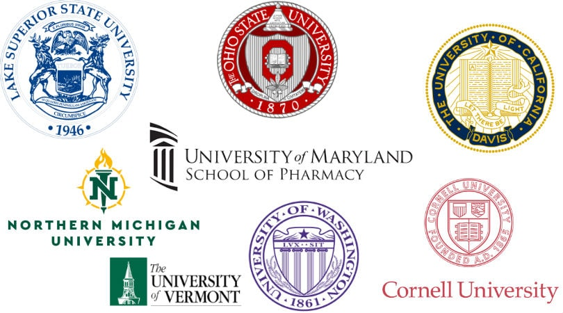Universities in United States with Cannabis Studies