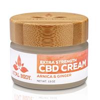 Vital Body Therapeutics CBD Cream Jar