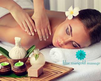 Blue Marigold CBD-Infused Massage