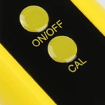 ph meter calibration button